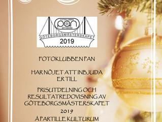Göteborgsmästerskapet redovisning 7/12