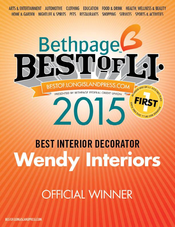 Best Interior Decorator 2015 -& 2016
