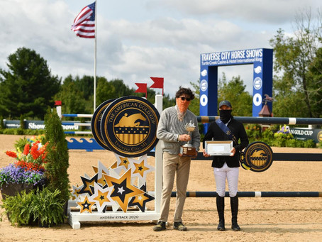 M. Michael Meller Style Award Presented to Kent Farrington at 2020 American Gold Cup