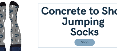 Support Concrete to Show Jumping and Benefit PURA with Socks and Masks