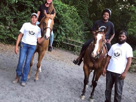 Philadelphia Urban Riding Academy Preserves Urban Black Cowboy's Legacy, Shares Love of Horses
