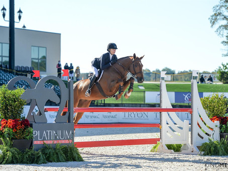 Elli Yeager & Copperfield 39 Victorious in 2020 Platinum Performance/USEF Talent Search – East
