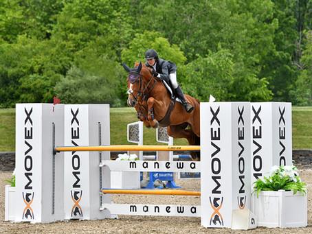QBS Equestrian Partners Heather Caristo Williams with Dionysos De La Vigne