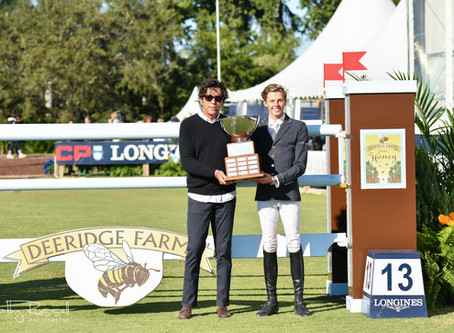 M. Michael Meller Presents Style of Riding and Doc Spirit Awards at 2020 Palm Beach Masters