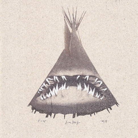"""The Great White Tipi"""