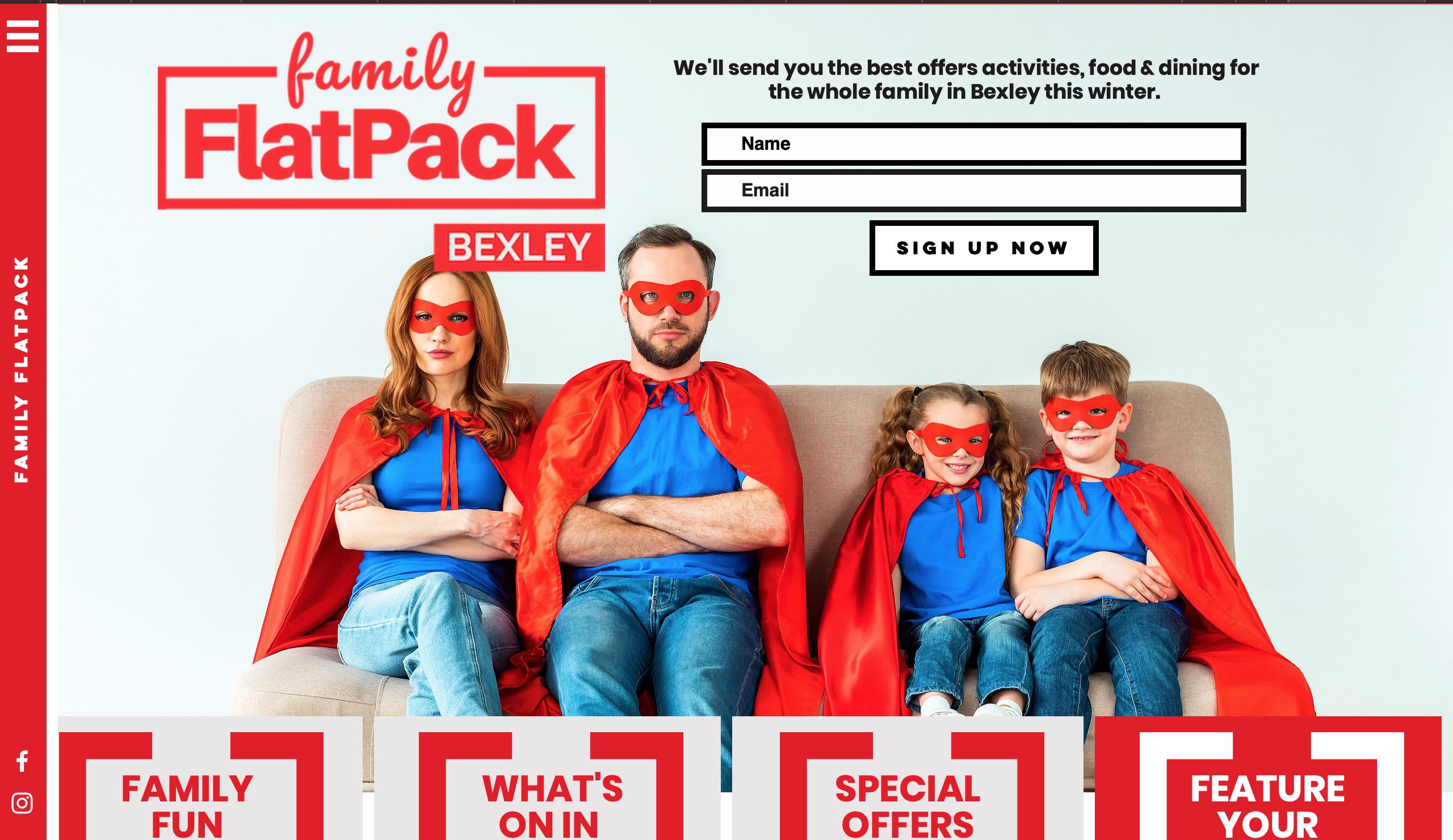 Website | Family FlatPack