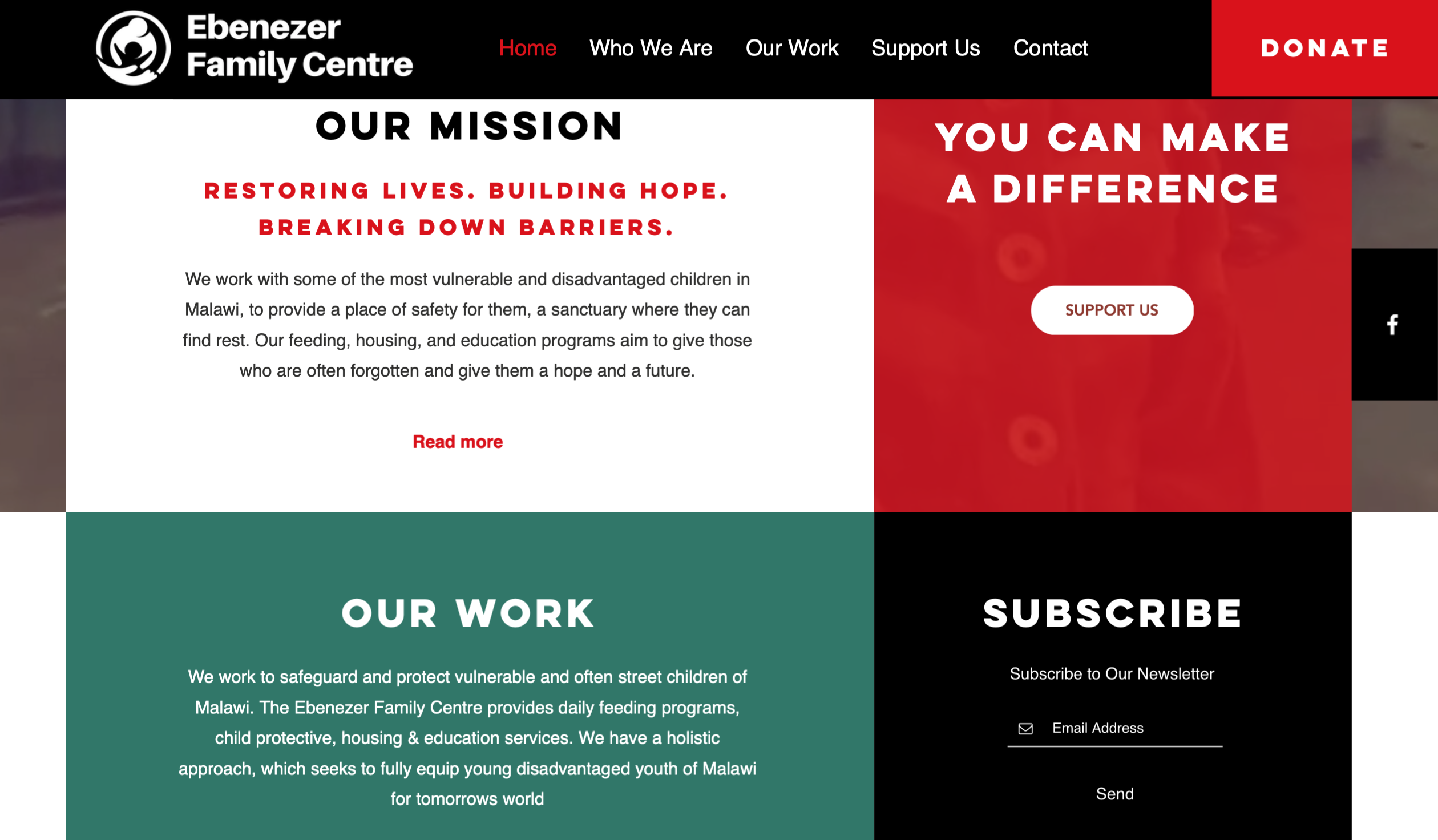 Website | Ebenezer Family Centre