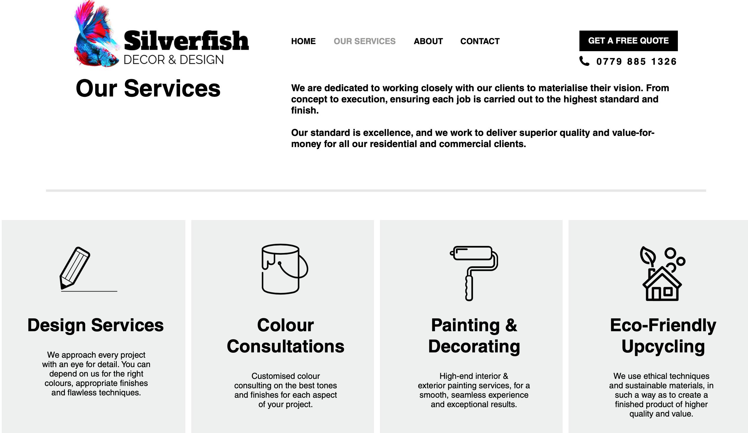 Website | Silverfish Decor & Design