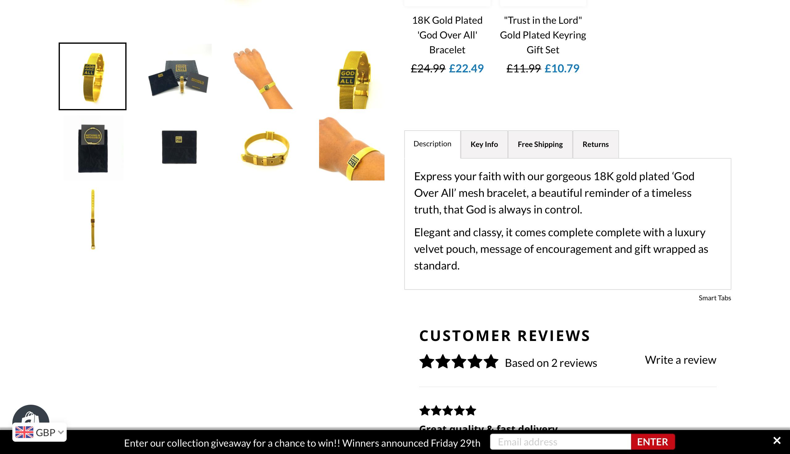 Website | The God Over All