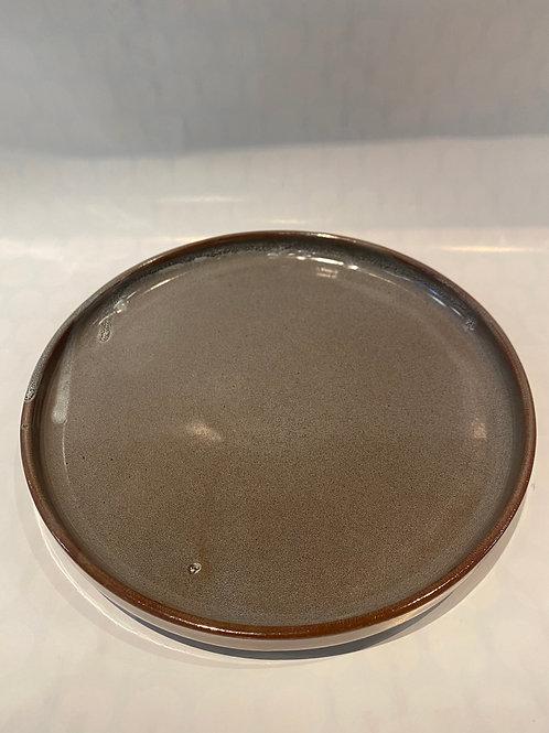 Scandi Lunch Plate Steel, 24cm