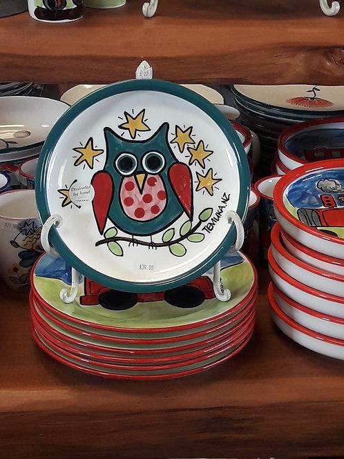Owl utility plate