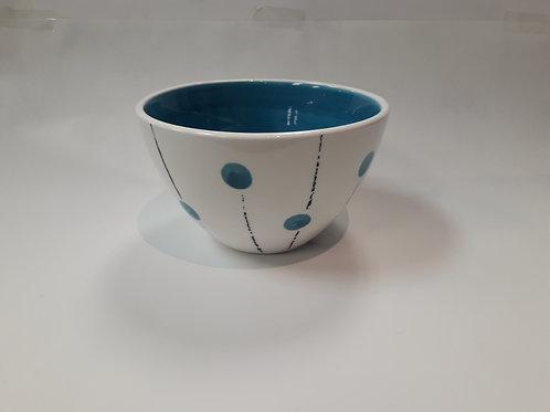Lollipop cereal bowl light blue