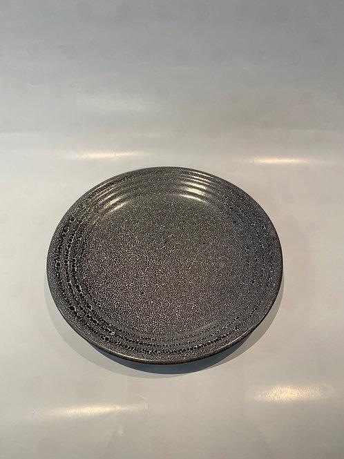 Wave Entree Plate 21cm, Black Foam
