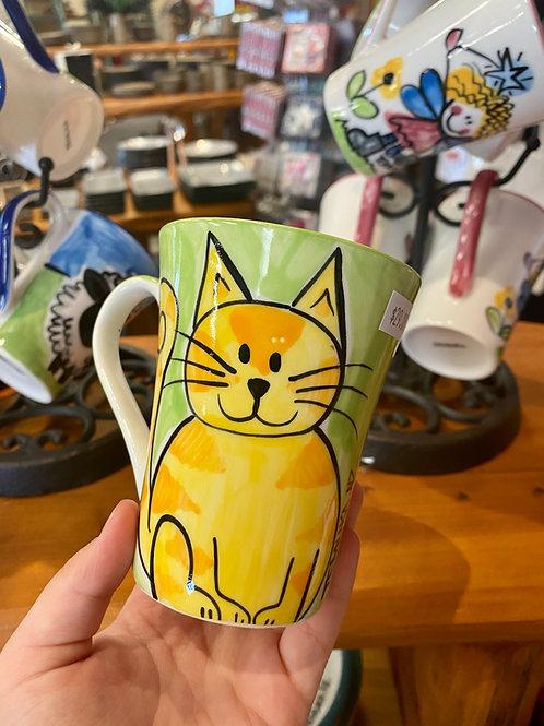 Happy Cat collection mug