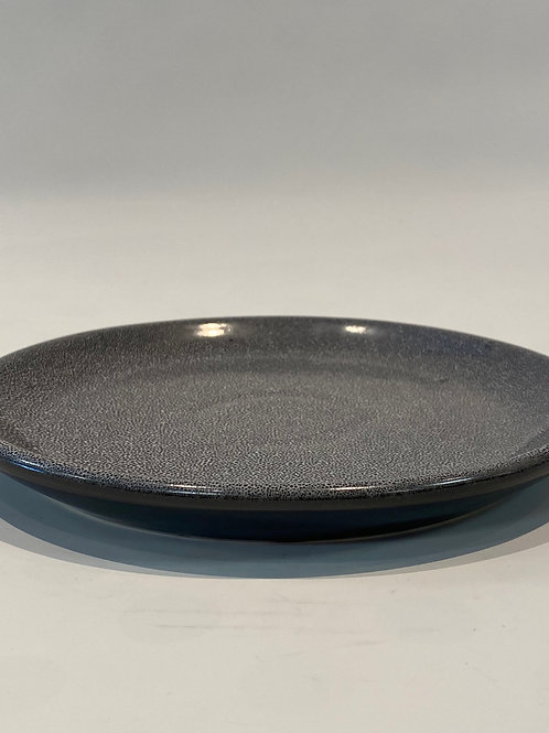 Classic Coupe Lunch Plate 25cm, Black Foam.
