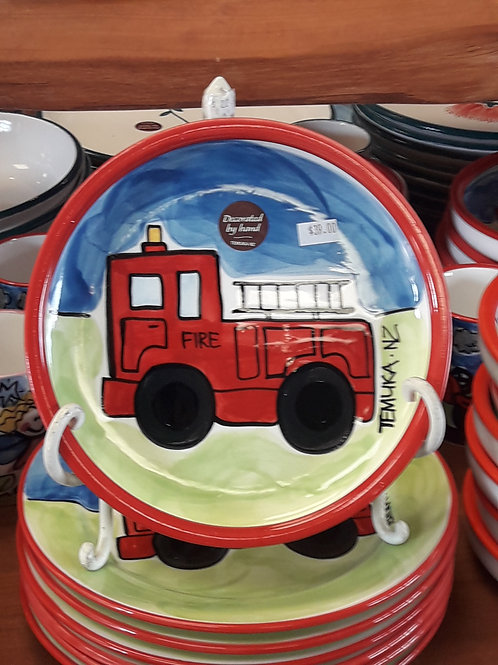 Fire Engine Utility plate
