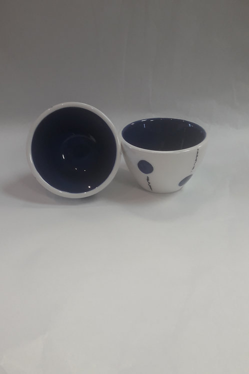 Dark Blue Dipping bowl