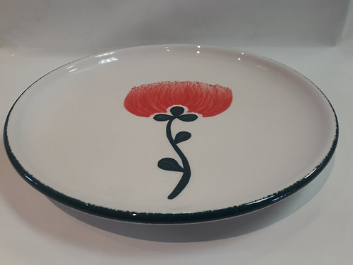Pohutukawa entree/side plate