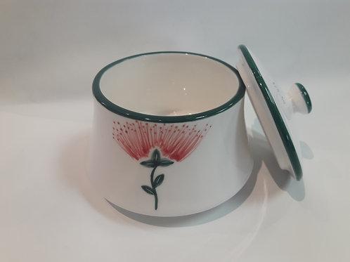 Pohutukawa sugar bowl