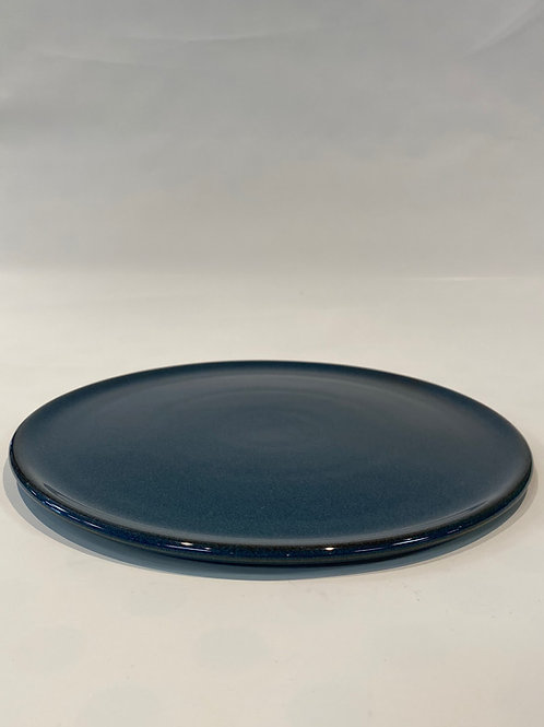 Classic Coupe 32cm Pizza Plate, Hazy Blue.