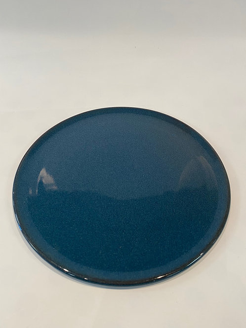 Classic Coupe 28cm Pizza Plate, Hazy Blue.