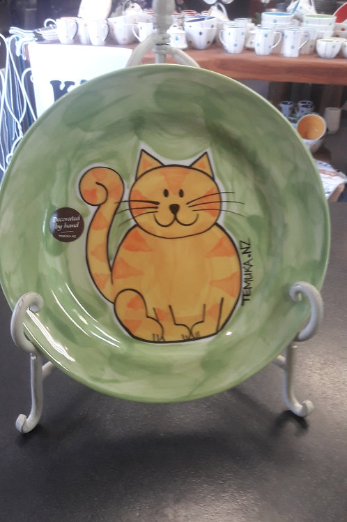 Happy Cat Lunch Plate