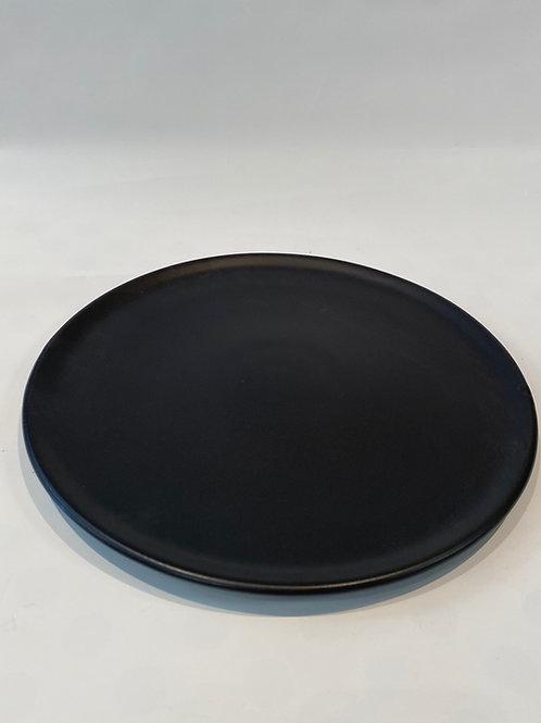 Classic Coupe Pizza Plate 28cm, Slate.