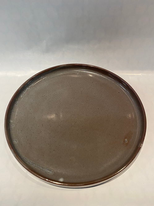 Scandi Dinner Plate 27cm, Steel