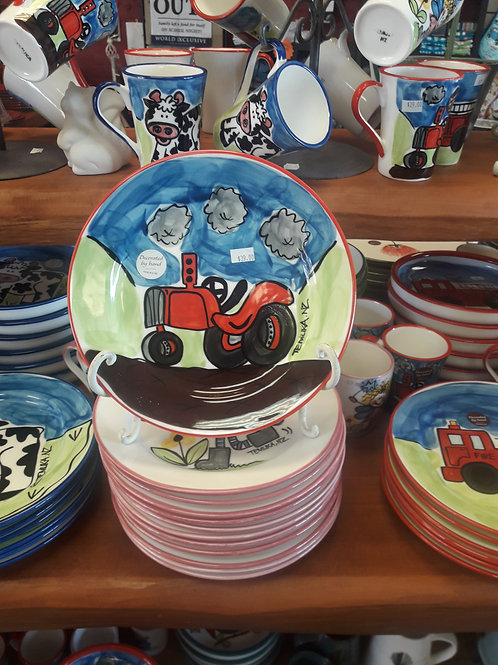 Tractor Lunch Plate