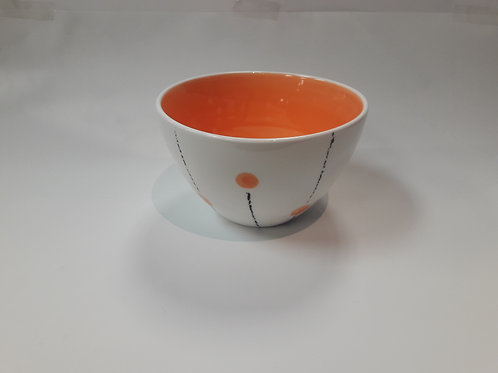 Cereal bowl Orange