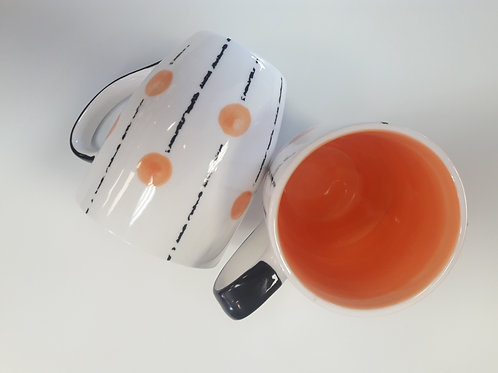 Lollipop mug Orange