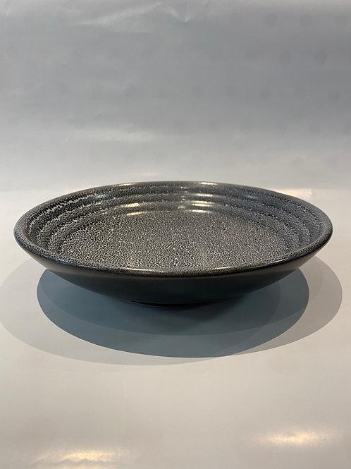 Wave Pasta Bowl 21cm, Black Foam