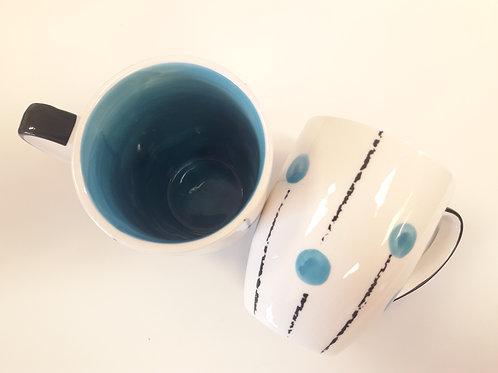 Lollipop mug Light Blue