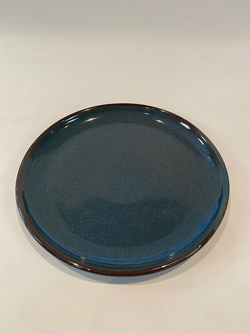 Classic Coupe Dinner Plate 27cm, Hazy Blue.