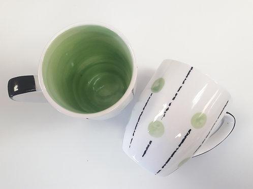Lollipop mug Green