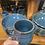 Thumbnail: Hazy Blue Ribbed Mug