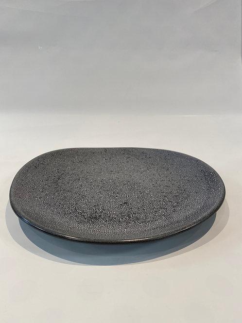 Freedom Dinner Plate 28cm, Black Foam.