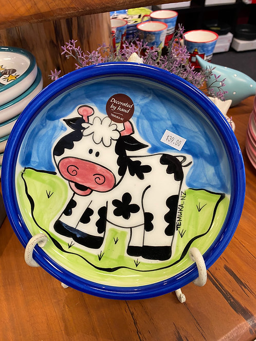 Cow utility plate