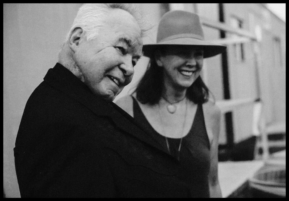John and Fiona Prine