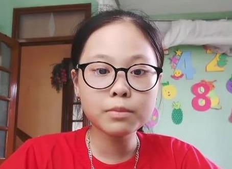 Học viên Khánh Minh, 11 tuổi