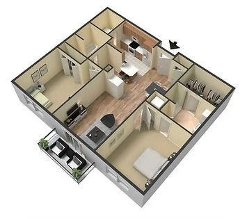 Center Unit 3D