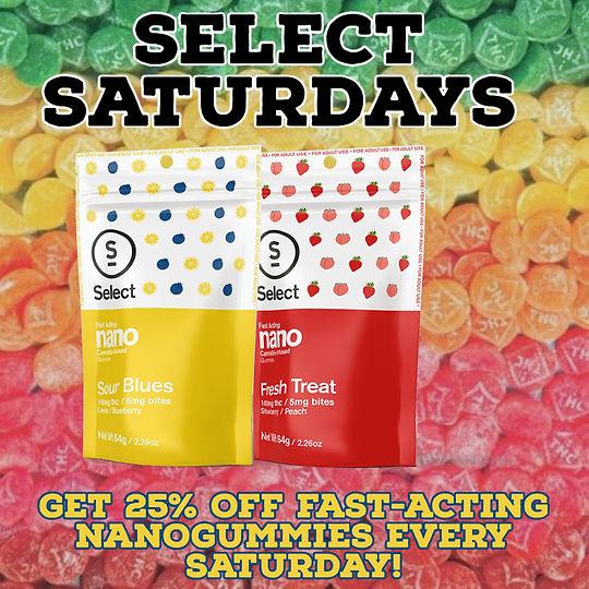 Select Saturday