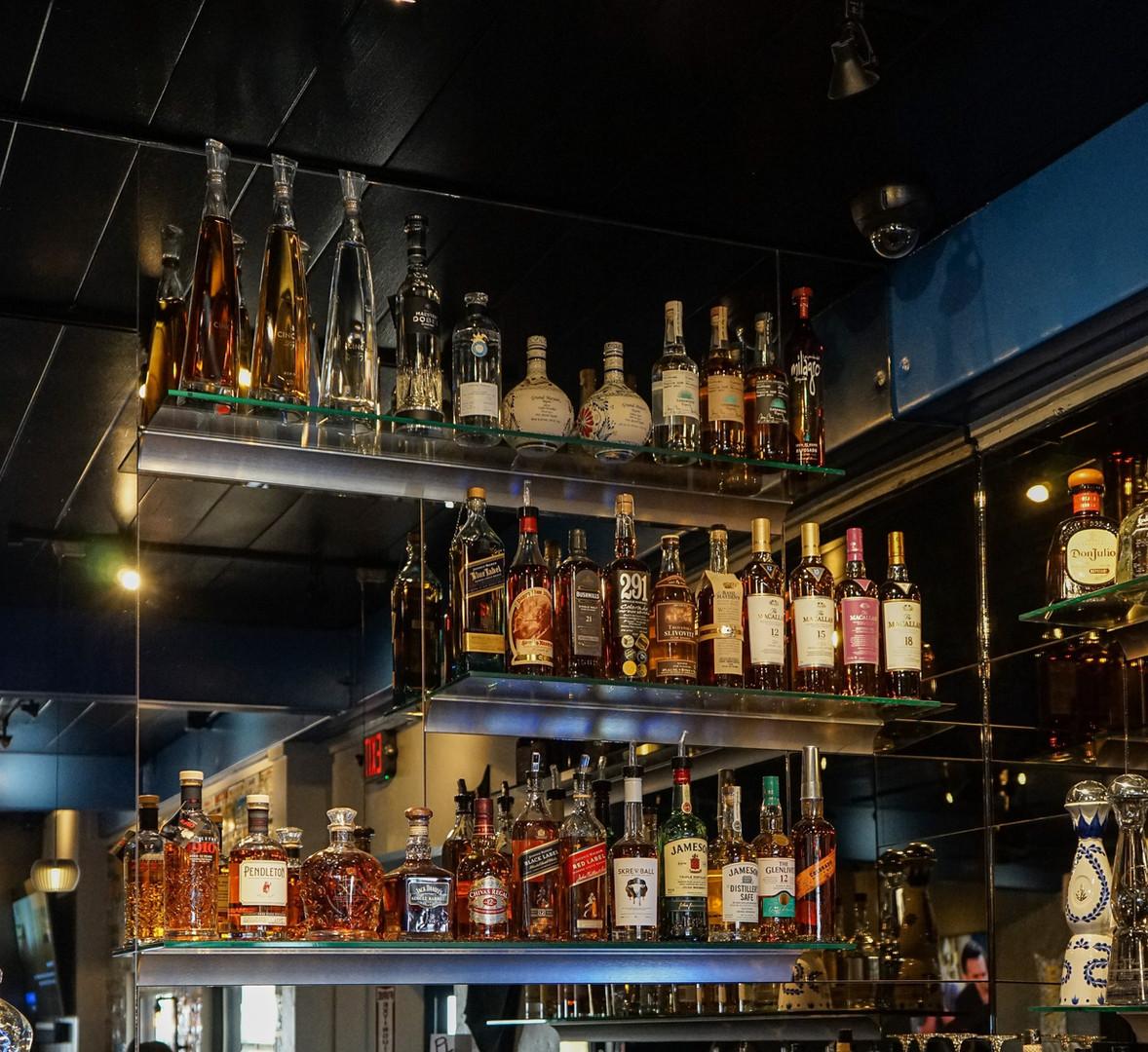 High end bar selection