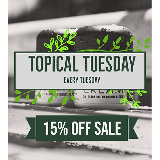 Topical Tuesdays 15% off