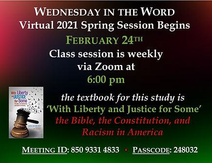 Slide - Wednesday In The Word Spring 202