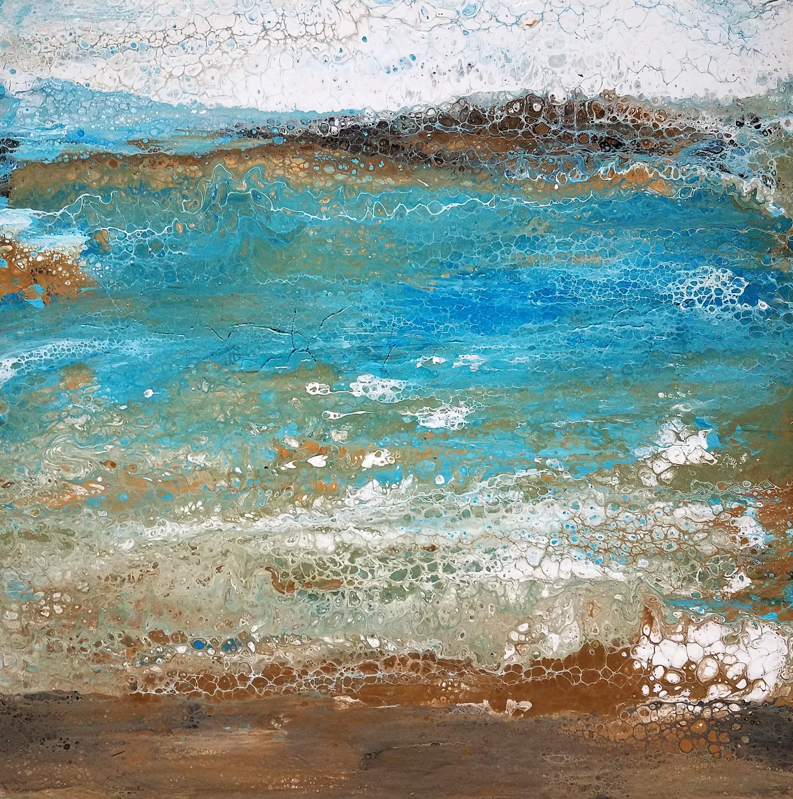 Large Seascape Pour (3)