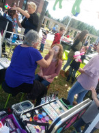 Dog Day Extravaganza Face Painting