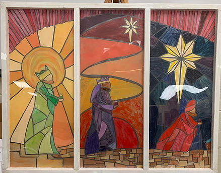 Hannah Neely 11th  Wise men Stained glas