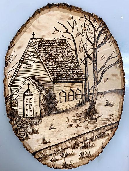 Hannah Neely 11th Country Church wood bu