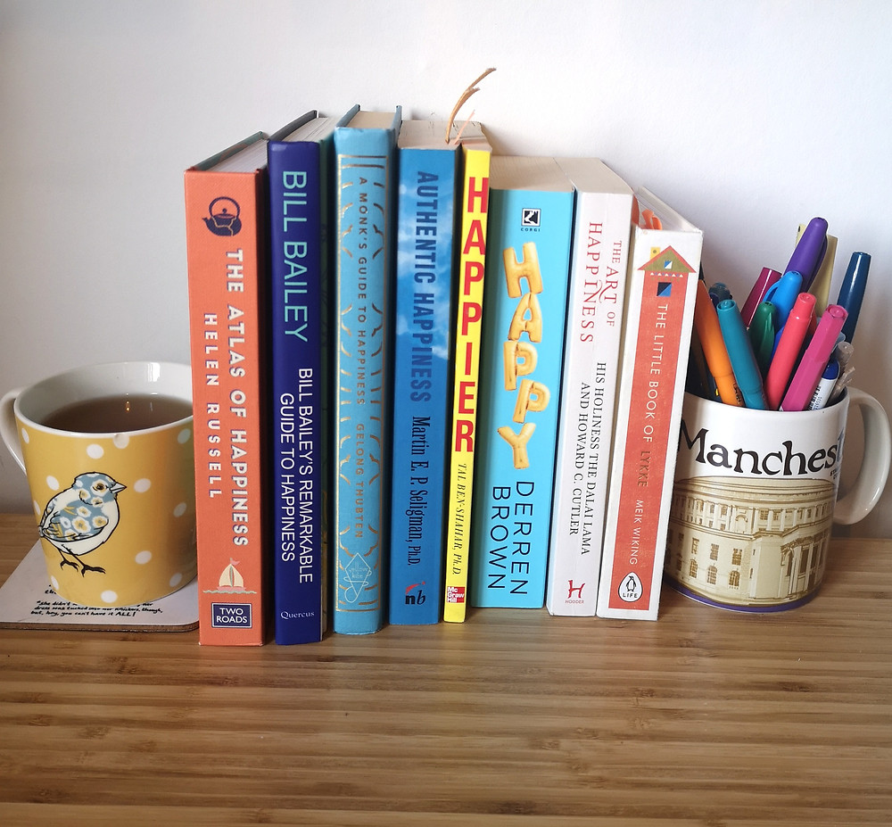 8 books on the subject of happiness